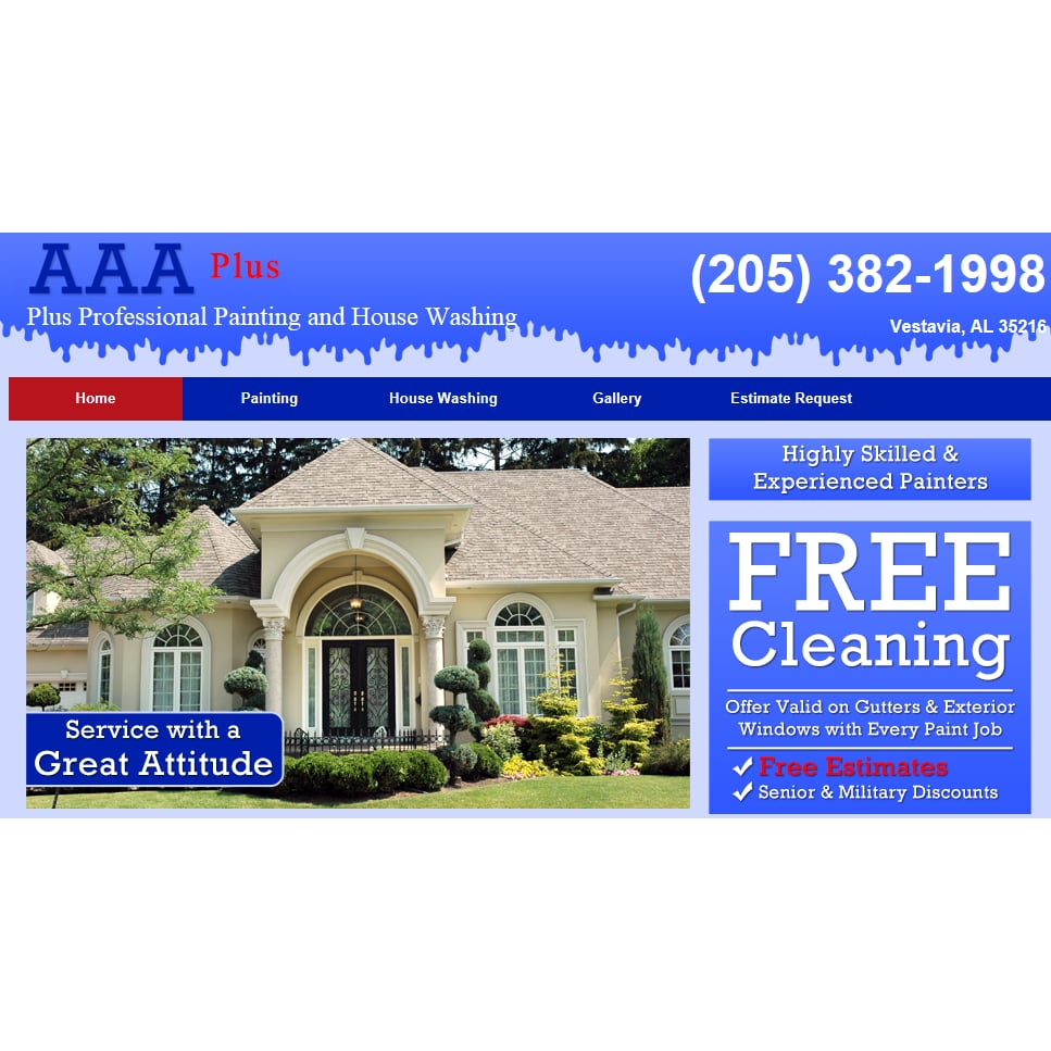AAA Plus Professional Painting & House Washing