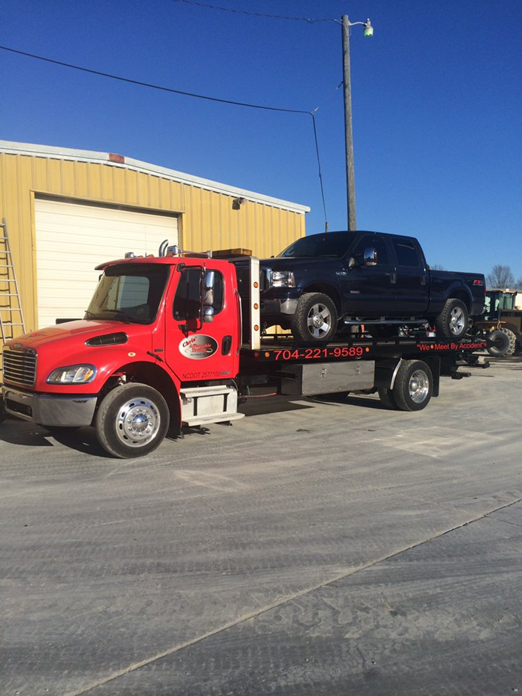 Chris' Affordable Towing: 2465 Old Charlotte Hwy, Monroe, NC