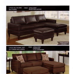 Photo Of Diamond Furniture   Lancaster, CA, United States. Sofa Chase With  Free ...