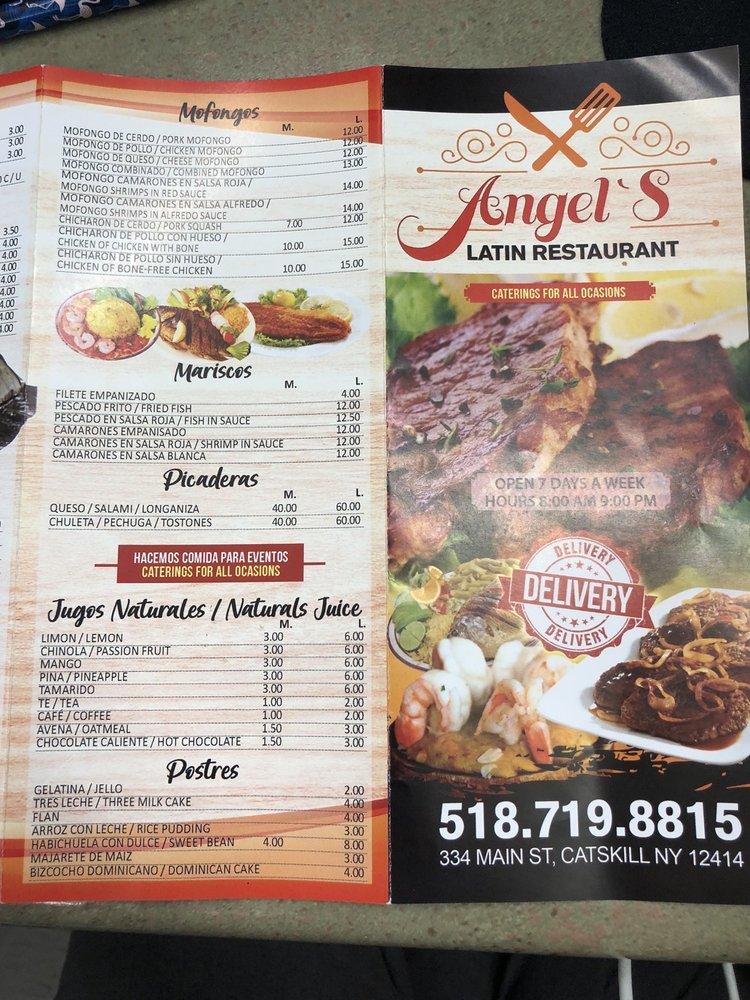 Angel's Latin Restaurant: 334 Main St, Catskill, NY