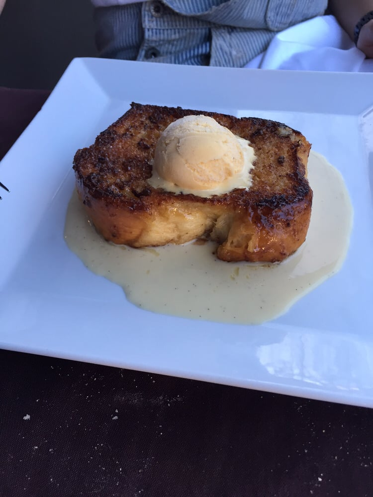 Real French Pain Perdu With Vanilla Ice Cream Yelp