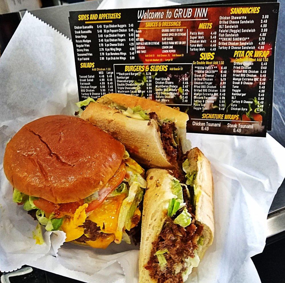 Grub Inn Pizza & Grill: 10406 Eagle St, Dearborn, MI