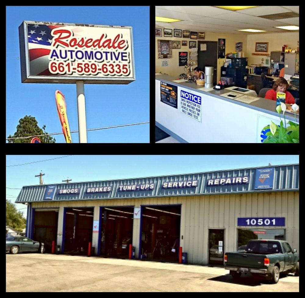 Rosedale Automotive: 10501 Rosedale Hwy, Bakersfield, CA