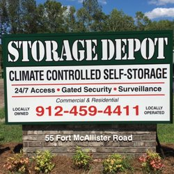 9c7a78af86b5 Storage Depot - Request a Quote - Self Storage - 55 Fort Mcallister ...