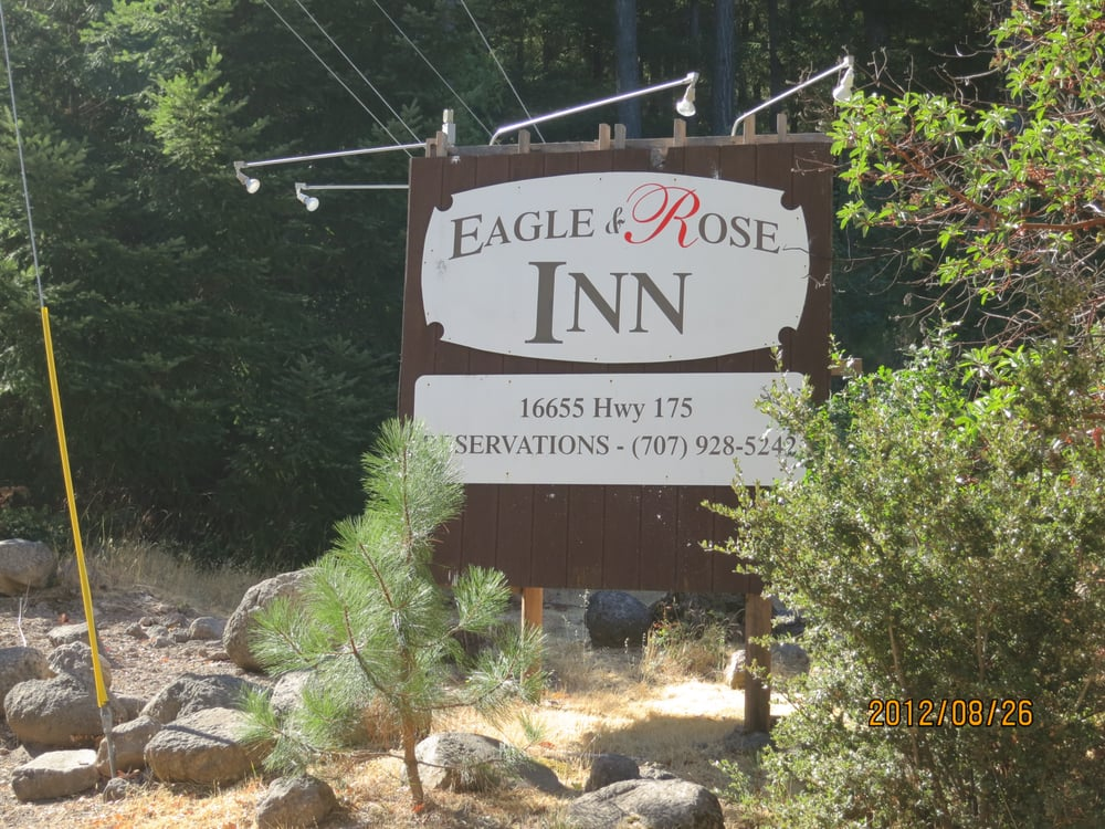Eagle & Rose Inn: 16655 Hwy 175, Cobb, CA