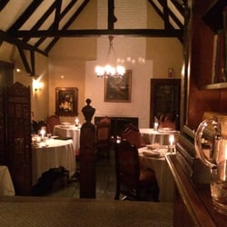 Photo Of Hyeholde Restaurant Moon Township Pa United States Fireplace In The