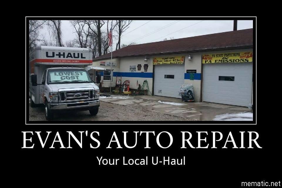 Evans Auto Repair: 2350 Grandview Dr, Etters, PA
