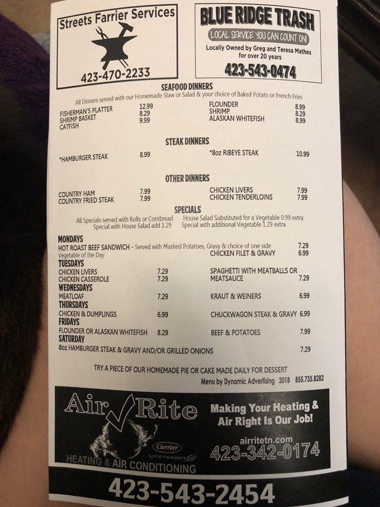 Wayne & Nancy's Family Restaurant: 2608 State line Rd, Elizabethton, TN