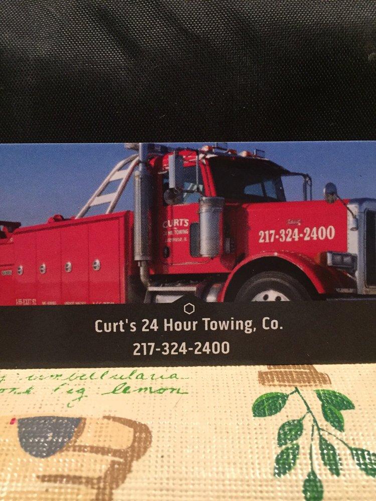 Curt's 24 Hour Towing: 1420 W Hudson Dr, Litchfield, IL