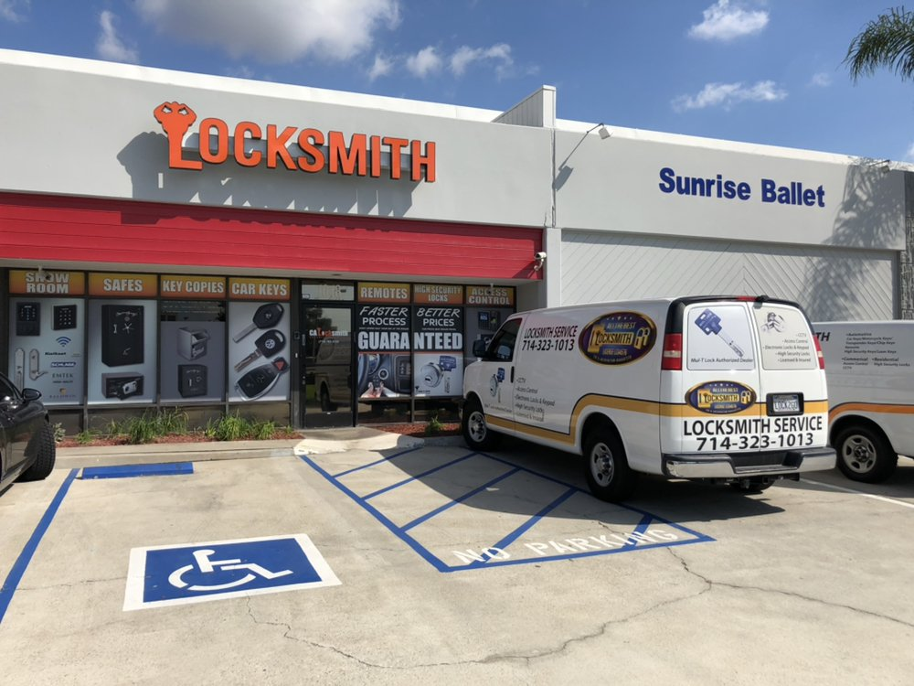 All The Best Locksmiths: Brea, CA