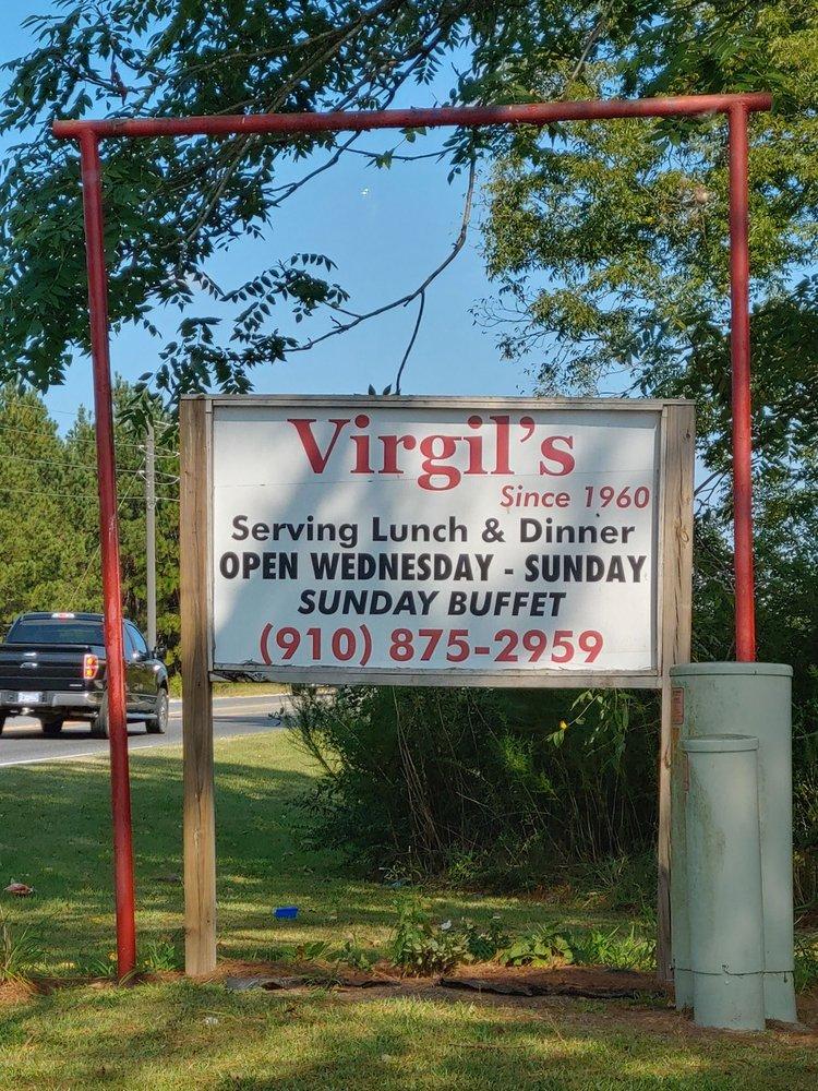 Virgil's Restaurant: 2402 Fayetteville Rd, Raeford, NC