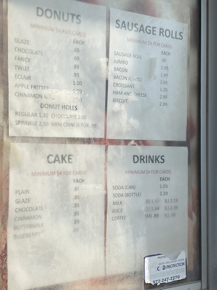 Donut King: 204 W Main St, Midlothian, TX
