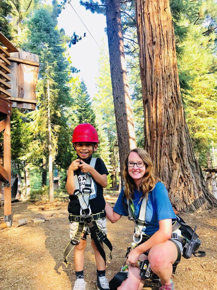 Tahoe Vista Treetop Adventure Park