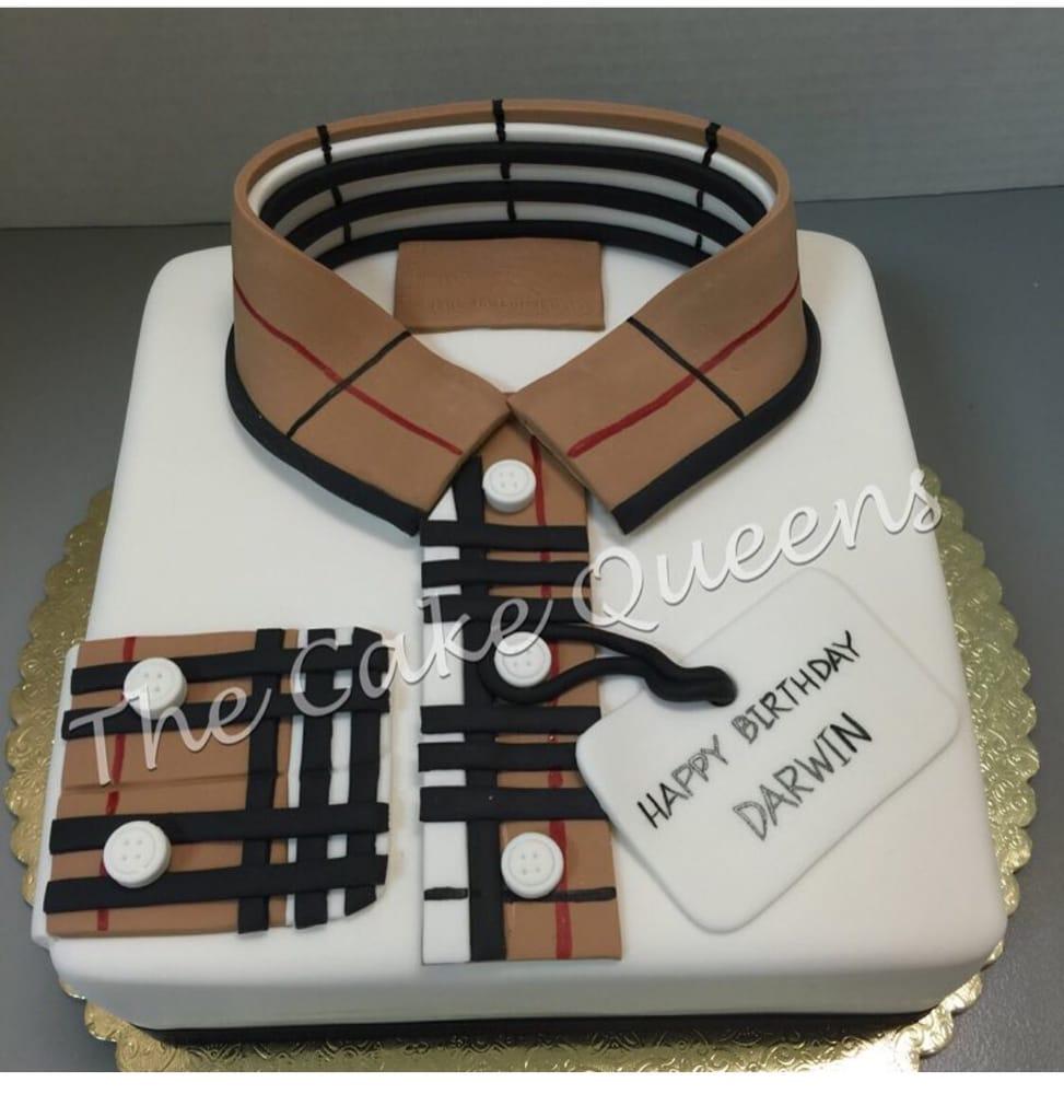 Burberry Birthday Cake