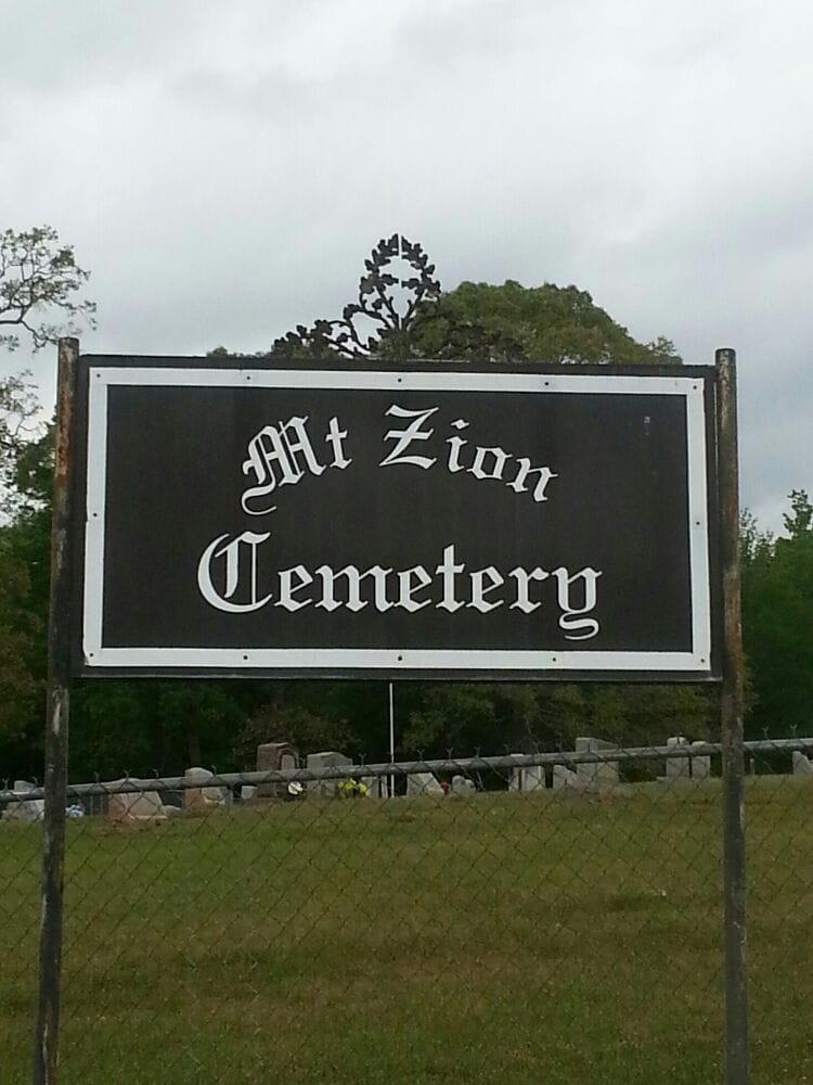 Mt. Zion Cemetery Ass'n.: La Hwy 518, Minden, LA