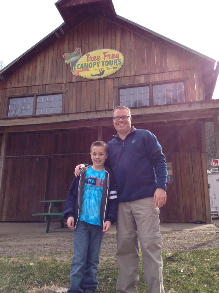 Treefrog Canopy Tours: 21899 Wally Rd, Glenmont, OH