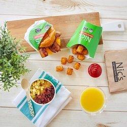 Nics Organic Fast Food Yelp