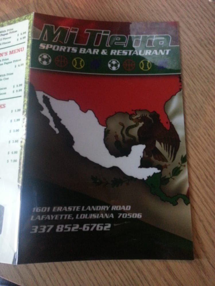 Mi Tierra Sports Bar & Restaurant: 1601 Eraste Landry Rd, Lafayette, LA
