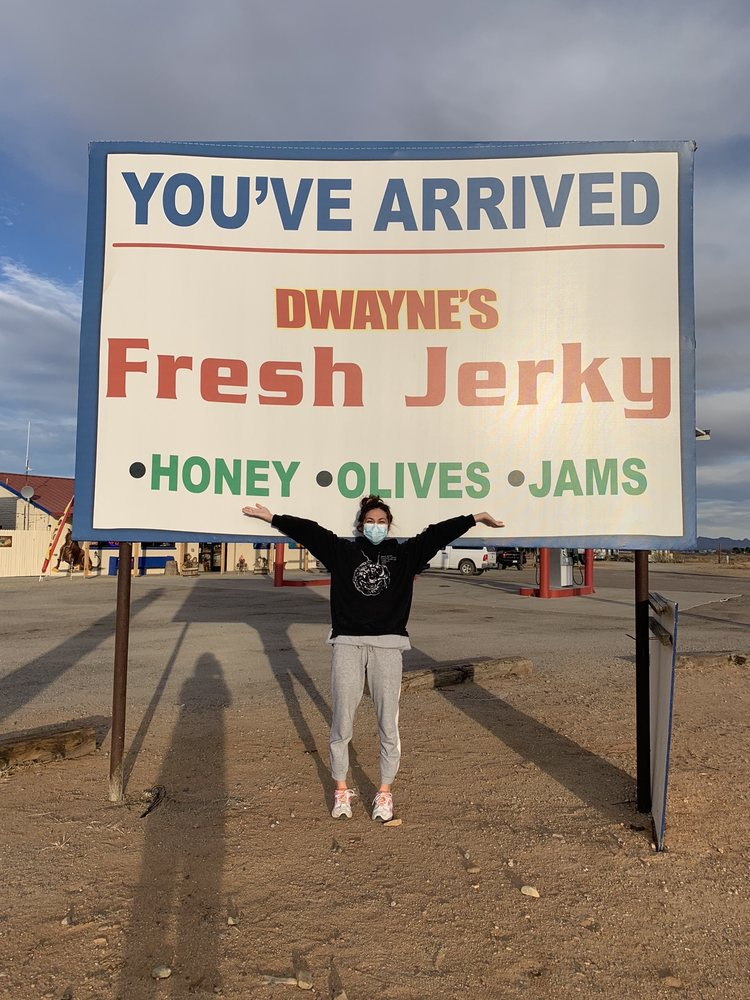 Dwaynes Fresh Jerky: 1120 W Business Loop 10, Bowie, AZ