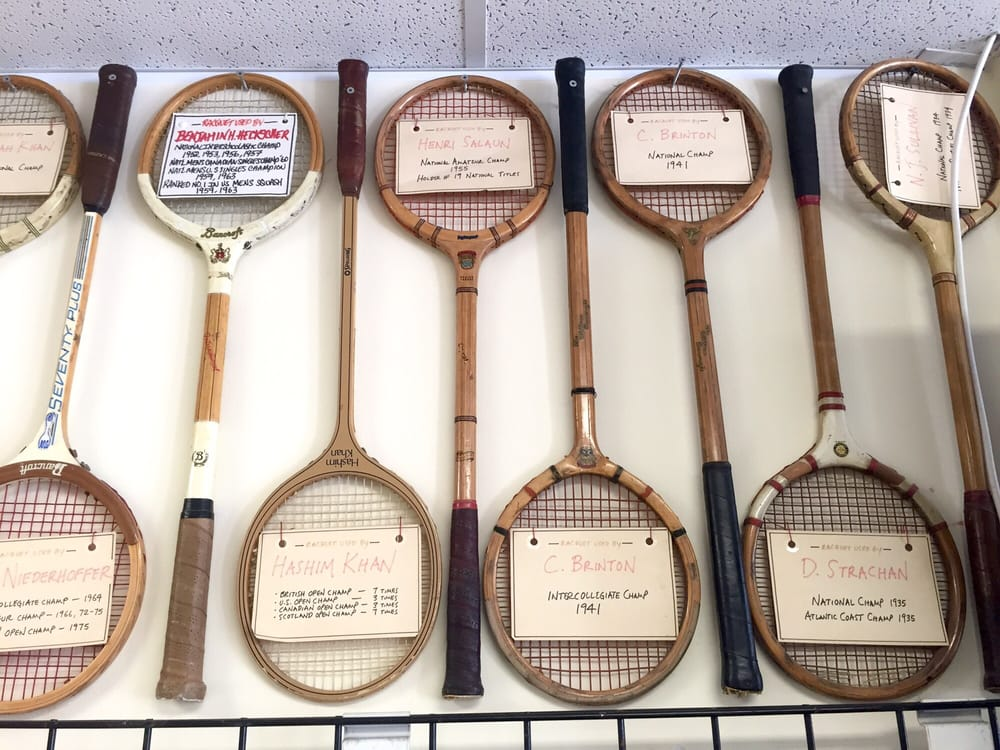 Tennis and Squash Shop: 131 Belmont St, Belmont, MA