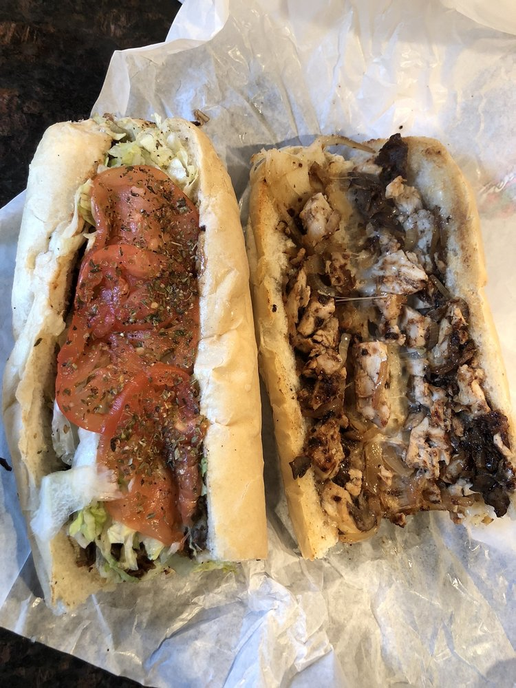 Food from Motown Phillys Cheesesteaks & Fries