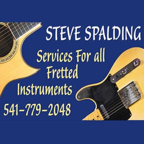 Steve Spalding Guitar and Fretted Instrument Repair: 349 East Main St, Ashland, OR
