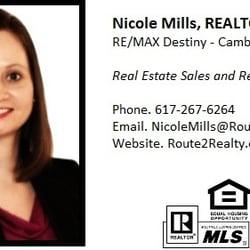 Nicole Mills - RE/MAX Destiny