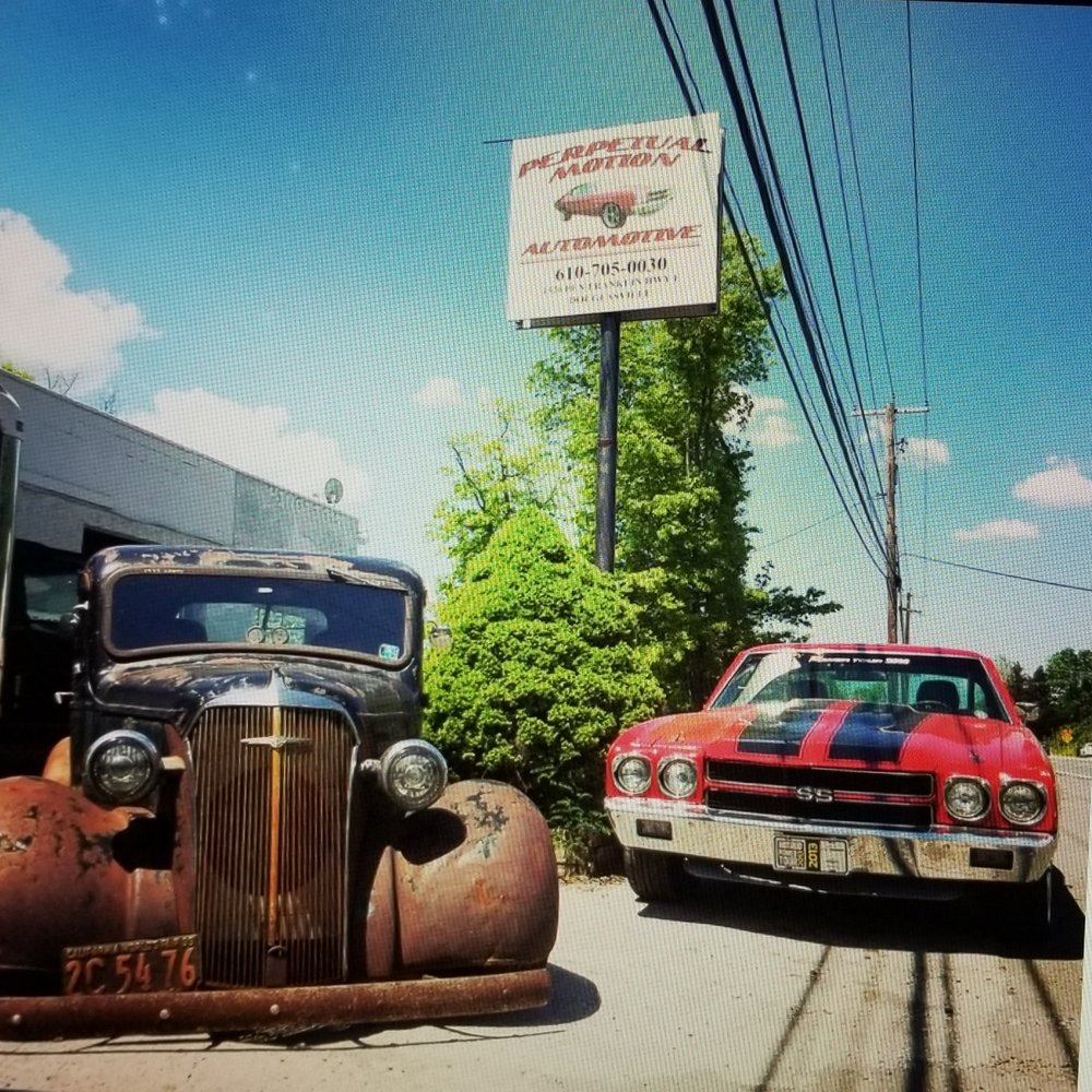 Perpetual Motion Automotive: 1520 Ben Franklin Hwy E, Douglassville, PA