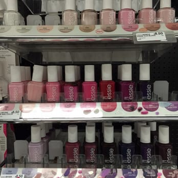 The Essie Nail Polish Display Missing Some Colors But Definitely Better Stocked Than Target Yelp