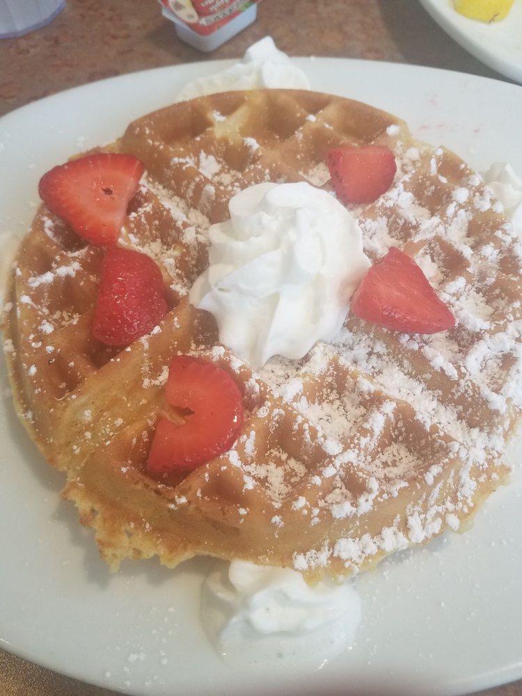 Food from Pancake Cafe