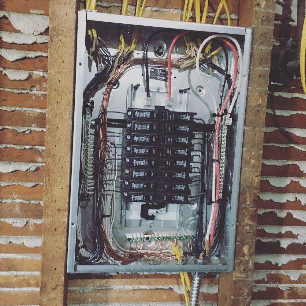 Basic House Wiring Panel
