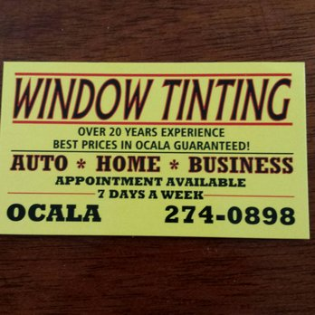 Greggs Window Tinting Home Window Tinting 3680 E Silver Springs
