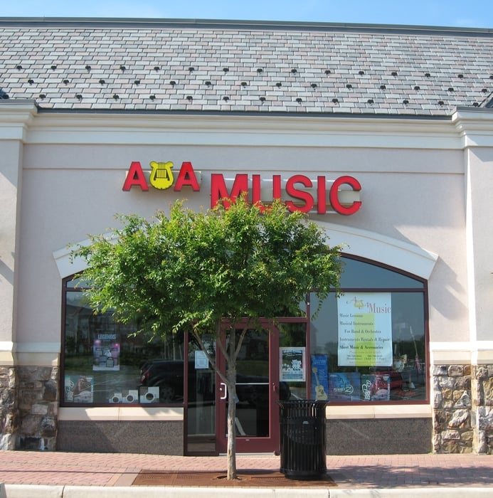 A & A School of Music: 42395 Ryan Rd, Ashburn, VA
