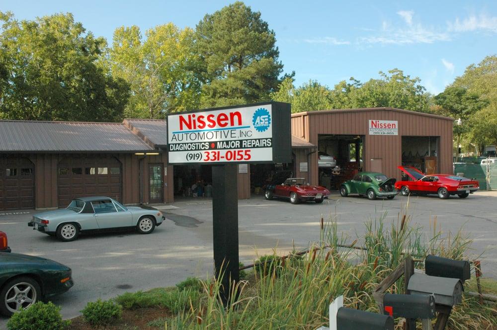 Nissen Automotive: 331 W Depot St, Angier, NC