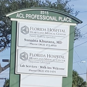 Florida Hospital Heartland Medical Center Lab Services