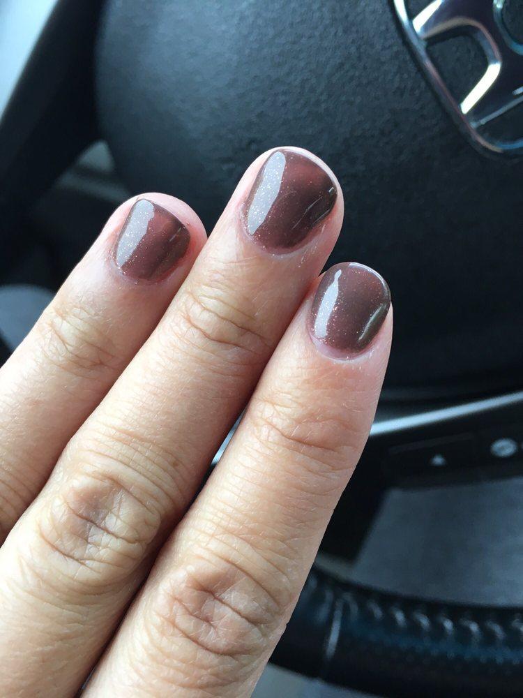 Nice job. No polish on fingers. - Yelp