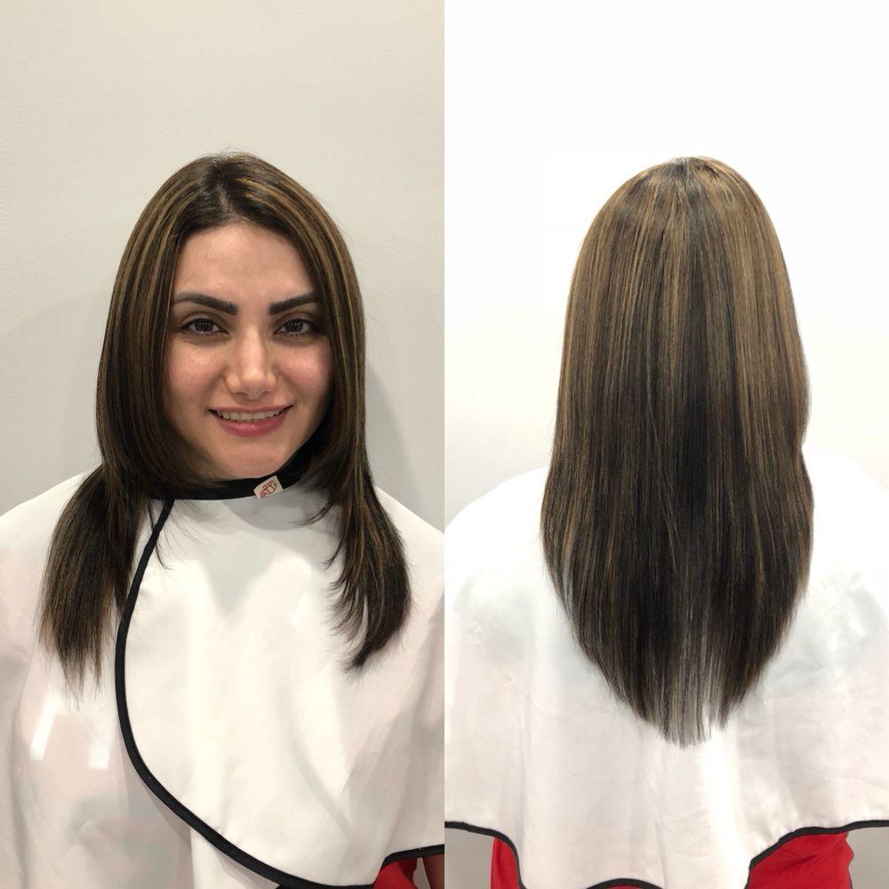 Japanese Straightening On Highlighted Hair Yelp