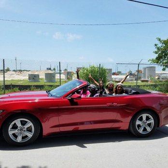 Miami Beach Car Rental Mustang