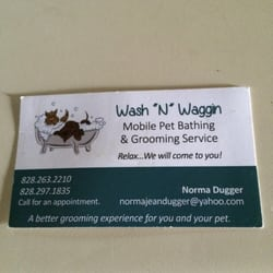 Wash n waggin pet groomers boone nc phone number yelp photo of wash n waggin boone nc united states normas business card colourmoves