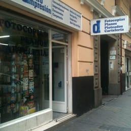 Centro impresi n druckerei copyshop calle hilari n for Calle hilarion eslava