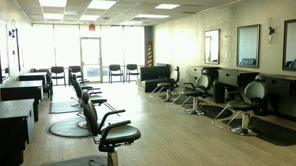 Cj s off the top gentlemen s barber shop men 39 s hair for Acton nail salon