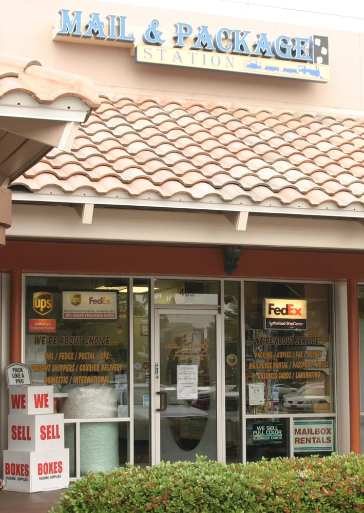 Mail and Package Station: 465 S Orlando Ave, Maitland, FL