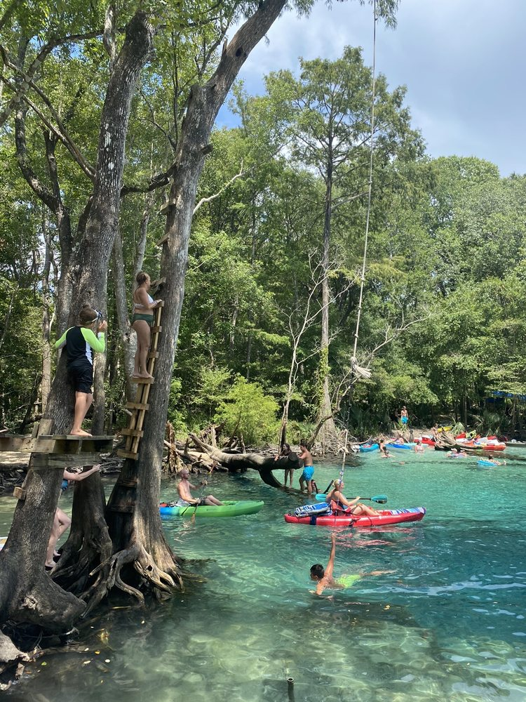 Social Spots from Holmes Creek Canoe Livery