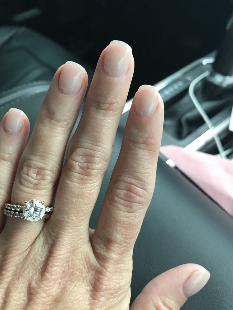 Beautiful neutral gel manicure today. - Yelp