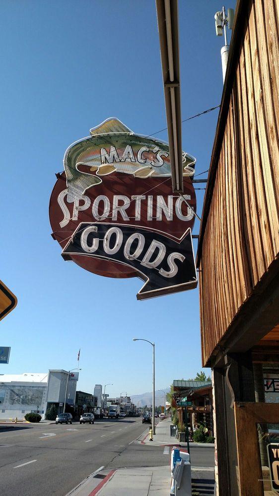 Mac's Sporting Goods: 425 N Main St, Bishop, CA