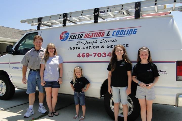 Kelso Heating & Cooling: 208 N 1st St, Saint Joseph, IL
