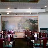 Photo Of Hiness Chinese Restaurant Spokane Wa United States Mural At Rear