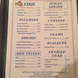 Sandpiper Seafood Restaurant Fayetteville North Carolina