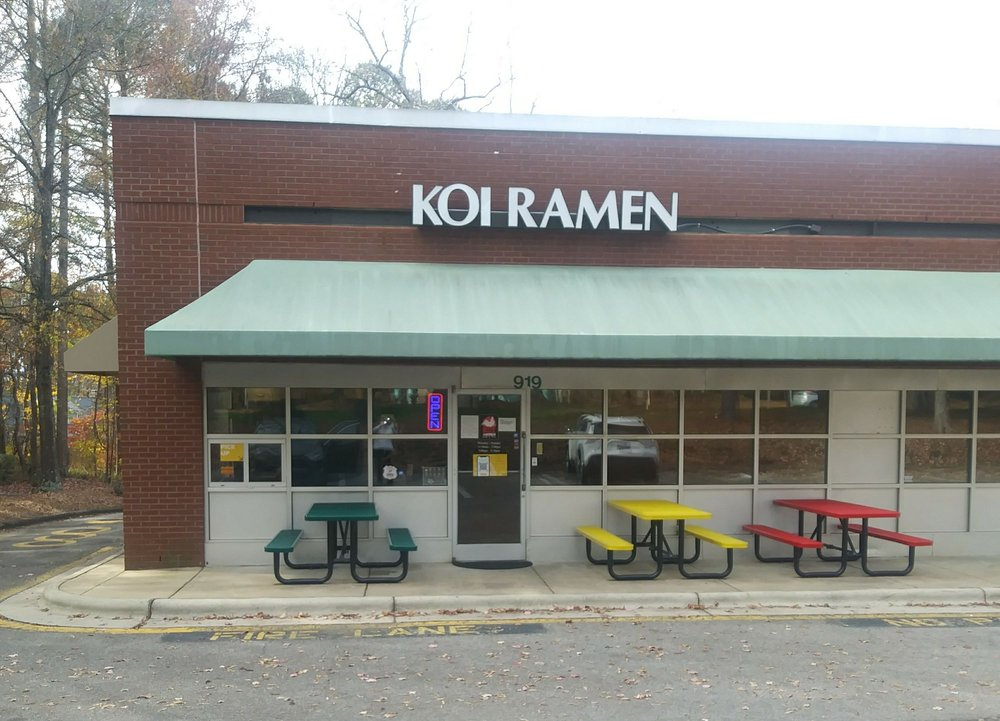 KOI Ramen: 919 Harrison Ave, Cary, NC