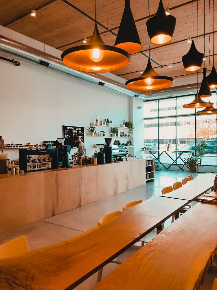 DreiBerge Coffee: 111 E Grand Ave, Des Moines, IA